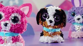 A world of fun creation! It is so fun and easy. Pop in the plush with the stylus and create your very own animal or pillow. Follow the...