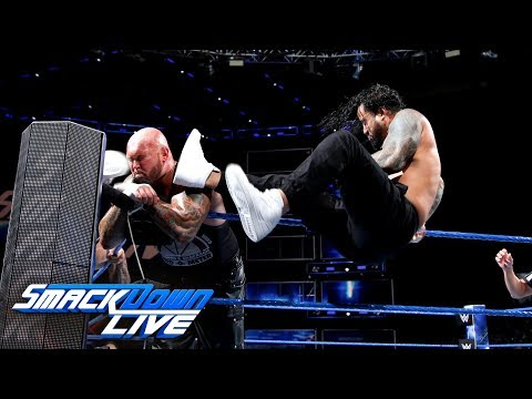 Usos Vs. Gallows & Anderson - Winners Will Face The Bludgeon Brothers: SmackDown LIVE, May 22, 2018