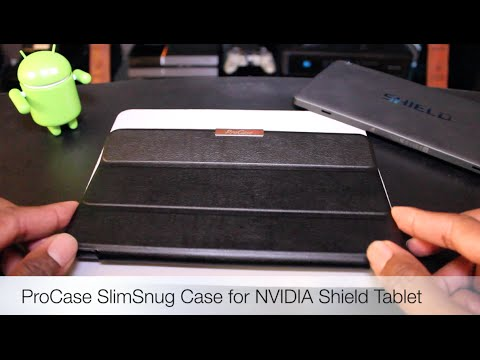 Must have Nvidia Shield Tablet Case: ProCase SlimSnug Case for NVIDIA Shield Tablet