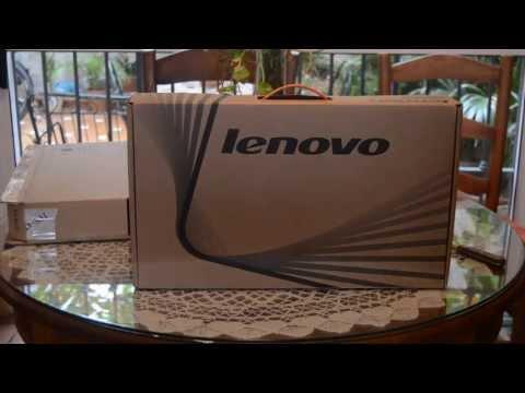 Lenovo G500 Unboxing