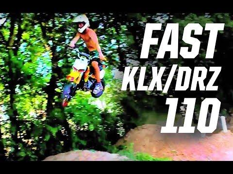 Dylan Pemberton SIKK! pitbike riding. klx 110 drz 110 ttr 110 crf 50 gnar productions