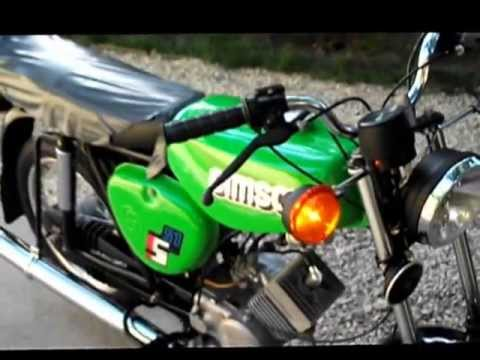 Simson S51 Original DDR ( S51/1B-H40,1990 )_Best extremsport videos of the week