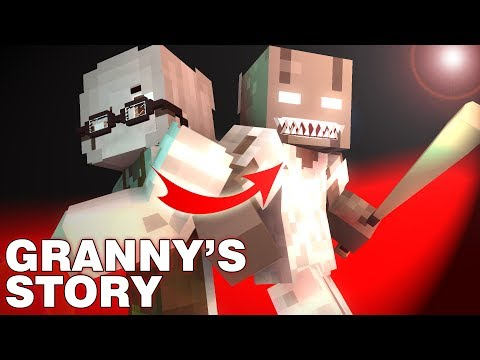 Monster School : Granny 's Story - Minecraft Animation