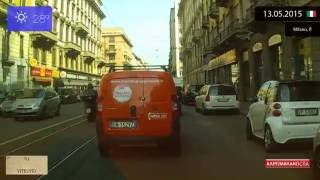 Sesto San Giovanni Italy  city pictures gallery : Driving through Milano (Italy) from Stazione Centrale to Sesto San Giovanni 13.05.2015 Timelapse x4