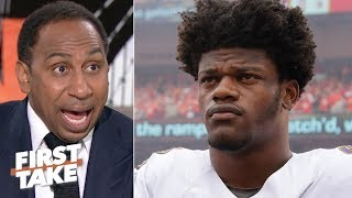 Lamar Jackson can't throw, that's a problem for the Ravens! - Stephen A. | First Take
