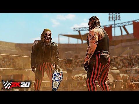 WWE 2K20 Custom Story - The Fiend Wyatt vs Fake Fiend - loser leaves WWE!
