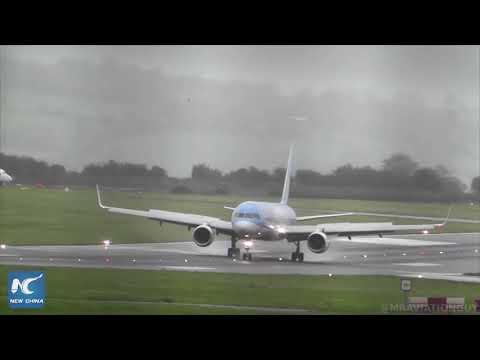 Посадка самолета в экстремальных условиях