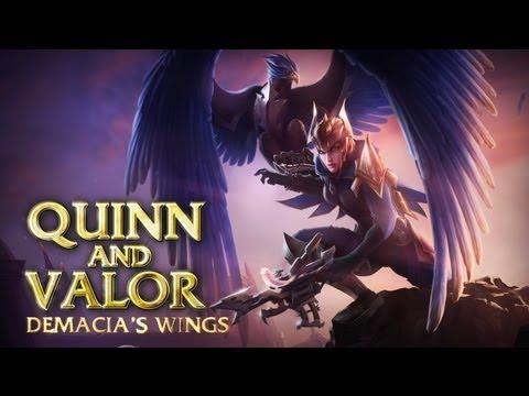 Champion-Spotlight: Quinn & Valor, Demacias Schwingen