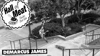 Holy smokes! Demarcus must have been feeling brave on this day as he goes for a gnarly line and gets stuffed.Keep up with Thrasher Magazine here:http://www.thrashermagazine.comhttp://www.facebook.com/thrashermagazinehttp://www.instagram.com/thrashermaghttp://www.twitter.com/thrashermag