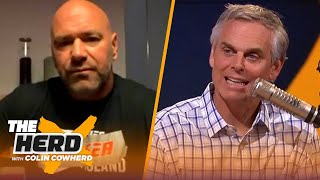 Dana White previews what to expect from UFC's Fight Island, Conor McGregor's future | THE HERD by Colin Cowherd