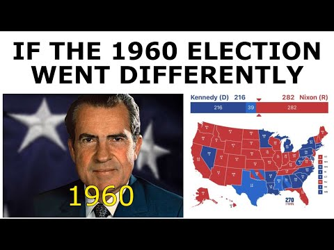 What If Nixon Defeated Kennedy? - 1960 Election Alternate History