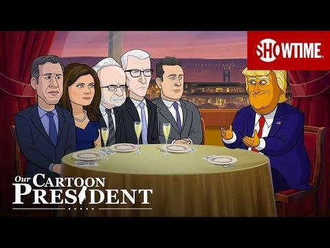 'Cartoon Trump's First Date w/ CNN' Ep. 304 Clip   Our Cartoon President   SHOWTIME