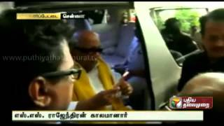 SS Rajendran cremated at Besant Nagar electric crematorium