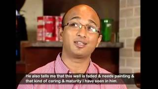 Hearing impaired manager in Café Coffee Day