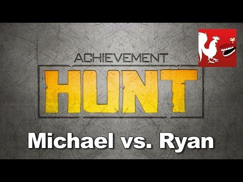 ryan - This week's Achievement HUNT, brings you Michael vs. Ryan. RT Store: http://roosterteeth.com/store/ Rooster Teeth: http://roosterteeth.com/ Achievement Hunte...