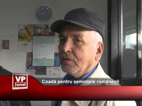 Coadă pentru seminţele românești