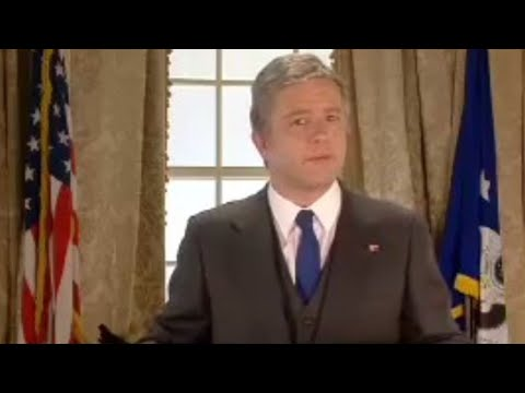 Comedy sketch! George W Bush - who is your choice for president?