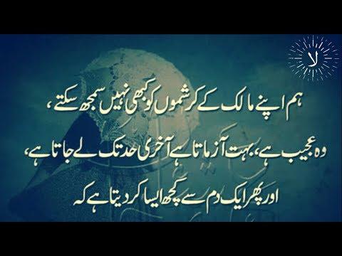 Best quotes - Best Collection of Urdu Quotes about Allah ki Karamat  Laila Ayat Ahmad