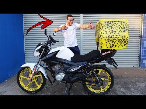 PINTEI A MOTO DO MOTOBOY DE ONCINHA