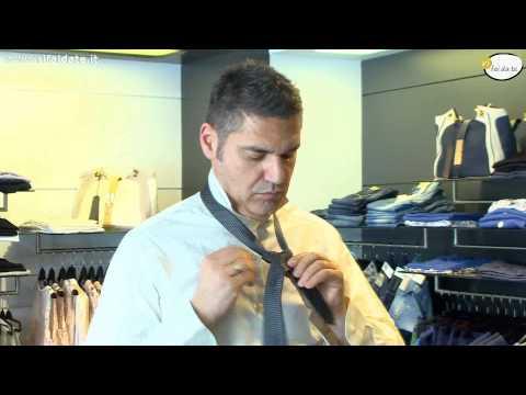 Come fare il nodo alla cravatta NODO WINDSOR