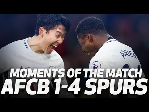 Video: SON'S NEW HANDSHAKE! AFC BOURNEMOUTH 1-4 SPURS