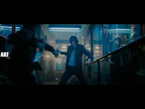 John Wick 3  - Throwing Knives Scene Part 1