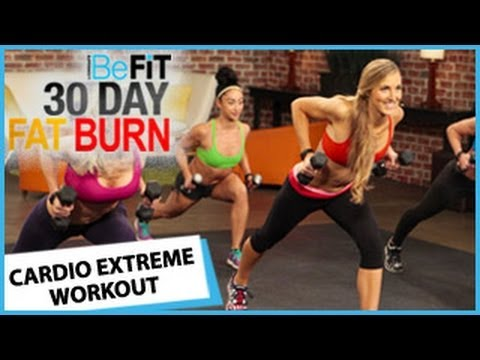 30 Day Fat Burn: Cardio Extreme Workout