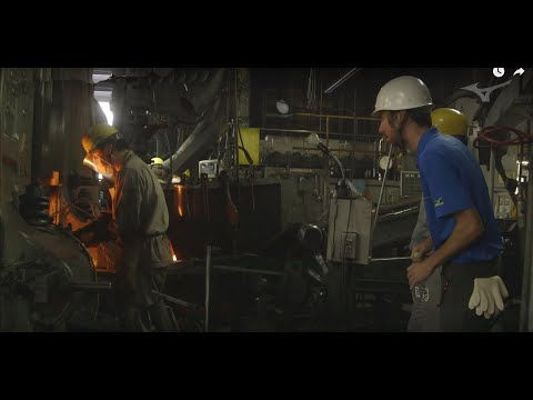 Mizuno Grain Flow Forging:  Factory Tour