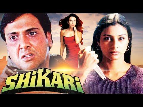 SHIKARI 2000 Full Action Thriller Movie | Govinda | Karishma Kapoor | Tabu