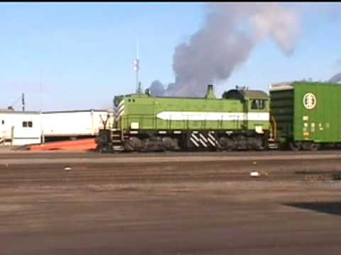 ALCO - The MD&W has four ALCO S-2's that still earn their keep up in International Falls MN. which is known as the nation icebox. The first clip of #18 has just cro...