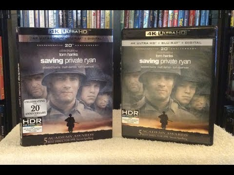 Saving Private Ryan 4K BLU RAY REVIEW + Unboxing
