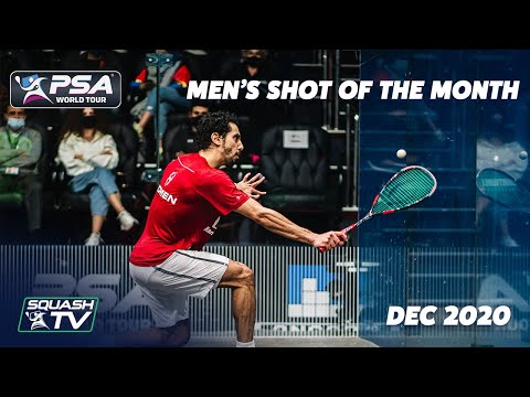 Squash: Men's Shot of the Month - December 2020 Contenders