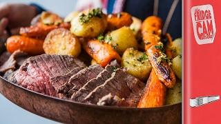 Big Night In - Incredible Sunday Roast Beef | FridgeCam by SORTEDfood