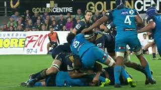 Highlanders v Blues Rd.7 Super Rugby Video Highlights 2017