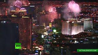 Las Vegas recibe el Año Nuevo 2015