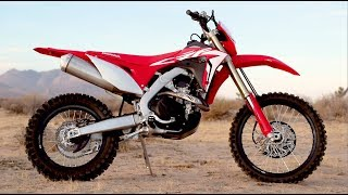4. 2019 Honda CRF450X - Media Event