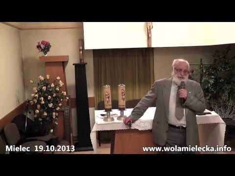 Profesor  Mirosław Dakowski - Smoleńsk wypadek czy zamach? 19.10.2013 Mielec