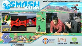 Smashdown  5 Winners Finals: Glutonny (Captain Falcon) vs. Phogos (Diddy Kong)
