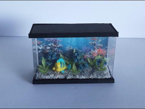 How to make a Doll Aquarium_Akvárium
