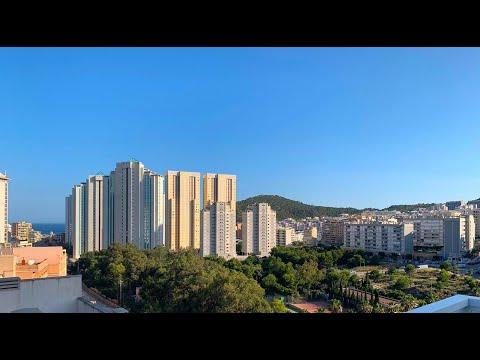 Всего за 158000€/Пентхаус с видом на море в Бенидорме/Недвижимость в Испании/Купить квартиру у моря
