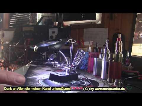 Luniquz Dritte Hand 5 LED Löthilfe mit Halte Klemmen ~  Eine Spende