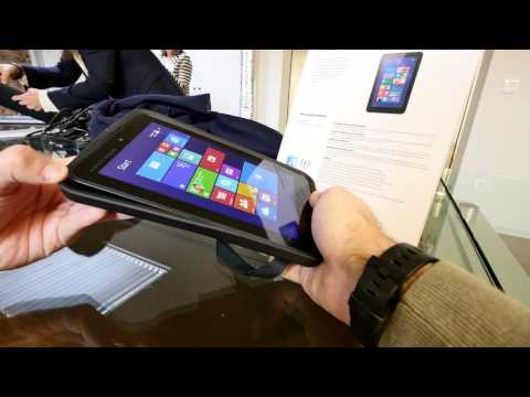 HP Pro Tablet 408 G1 Hands On [4K]
