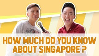 Video How much do Singaporeans actually know about Singapore? MP3, 3GP, MP4, WEBM, AVI, FLV Agustus 2018