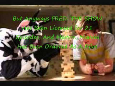 FRED: THE SHOW Licensed for 21 Episodes and Marvin Marvin Pilot