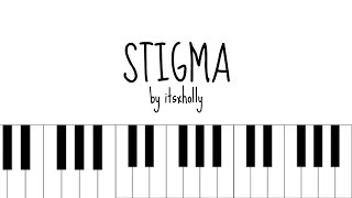 Video STIGMA - BTS - Piano Tutorial MP3, 3GP, MP4, WEBM, AVI, FLV April 2018
