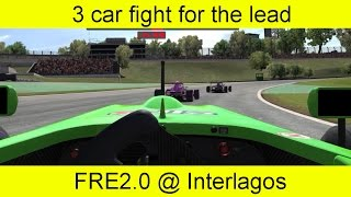 Nonton Race: 3 car fight for the lead. FR2.0 @ Interlagos. Film Subtitle Indonesia Streaming Movie Download