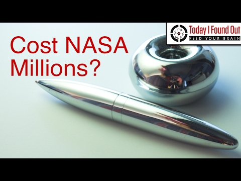 Did NASA Spend Millions Developing a Pen When the Russians Used Pencils?_A valaha feltöltött legjobb űrhajó videók