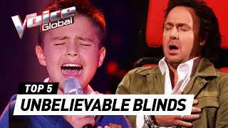 Video UNBELIEVABLE Blind Auditions in The Voice Kids that SURPRISED and SHOCKED the coaches MP3, 3GP, MP4, WEBM, AVI, FLV September 2018