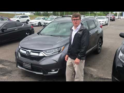 2017 Honda CR-V Touring at Sam Boswell Honda