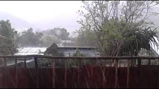 De Rust South Africa  city photos : South Africa Western cape de rust rain hail storm